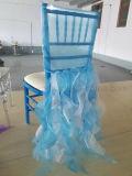 宴会の椅子のための金カラーファブリックカバーは使用した(CGCC1710)