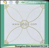 Flores florecientes del oro del techo de la impresión de la capa del rodillo del estilo de la obra clásica china