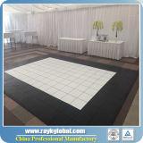 Parquet de vente en bois de haute qualité pour la fête Évènement de mariage Revêtement de sol en PVC pour la danse