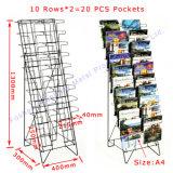 판매를 위한 20의 PCS 포켓 금속 상업적인 신문 진열대