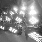 Etapa luz LED PAR64 de DJ con control remoto inalámbrico