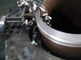 découpage sans joint de pipe d'acier inoxydable de qualité et machine taillante