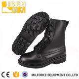 イギリス完全な穀物の革靴の革戦闘用ブーツ