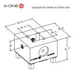 Prisound Schelle-Halter für CNC-Maschine (3A-501103)