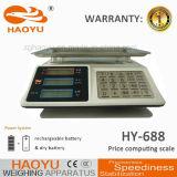 Nuevo tipo escala computacional de Haoyu Platfrom del precio tablero de Digitaces