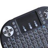 Mouse dell'aria I8 con la tastiera illuminata della radio 2.4GHz