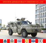 Caminhão rodado 4X4 do veículo blindado de transporte de pessoal do tigre