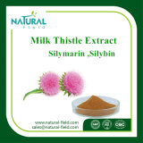 Poudre pure 80% Silymarin CAS 22888-70-6 d'extrait de chardon de lait d'herbes