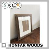 Antiker Brown-festes Holz-Abbildung-Foto-Rahmen