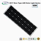 2017 nuovo tipo indicatore luminoso di via solare tutto compreso del LED 50W