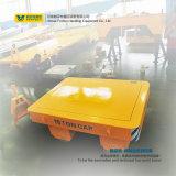 中国はトロッコの重い原料の転送のための平らなトレーラーのカートを引いた