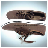Обувь цвета темного Brown плоская работая