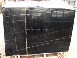 Tuile de marbre noire de Saint Laurent pour l'étage et le mur