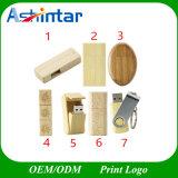 Azionamento di bambù dell'istantaneo del USB del USB di Customed del bastone dell'istantaneo di legno di memoria