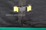 Trampoline professionnel avec net de sécurité haute qualité