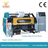Nicht gesponnener selbstklebender aufschlitzender und Rückspulenmaschine Papierkennsatz