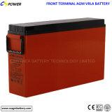 Batterie terminale avant profonde du cycle FT12-170/175 pour des télécommunications