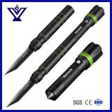 Tácticas Multifuctional cuchillo/navaja militar la cuchilla con la linterna (SYKT-107).