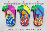 Магнит Flop Flip туризма силикона, резиновый магнит тапочки пляжа, магнит Flop Flip