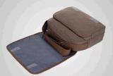 Saco retro ocasional do estudante do saco do computador da grande capacidade do negócio do saco do mensageiro da lona do saco de ombro
