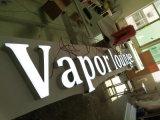 DEL allumant le devanture de magasin chaud 3D DEL de lettre de signe de la Manche d'éclairage de devanture de magasin de vente en gros acrylique de signe annonçant des signes