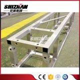 Shizhan 200*200mm小さい正方形アルミニウムボルトまたはねじトラス正方形の管