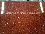Künstliche rote Marmormarmorierungplatte