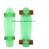 "Transparenter PC Minipenny-Fisch-Skateboard in 22 "" /27 """
