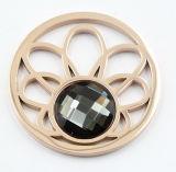 [هيغقوليتي] [ستينلسّ ستيل] [لوكت] مدلّاة مجوهرات مع عملة قابل للتبديل