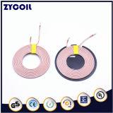 Um transmissor sem fio da bobina11 carregador