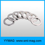 De aangepaste Gesinterde Magneet van de Ring van het Neodymium van de Deklaag Nicuni met Sterke Macht