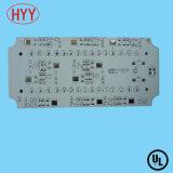 UL goedgekeurde LEIDENE MCPCB met 8W Hoogste Warmtegeleidingsvermogen (hyy-002)