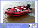 Barca della barca di spostamento del PVC, barca di sport di estate del Ce di rematura