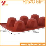 Joyau de la forme de cube de glace en silicone/plateau de moule à cake en silicone/silicone moule à pudding