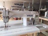 Wd-8900d aguja simple Lockstitch Mando directo de bloqueo de plano la máquina de coser Industrial de jeans con precio competitivo