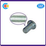 DIN/ANSI/BS/JIS Carbon-Steel/Stainless-Steel 4.8/8.8/10.9 Sextavado Interno Galvanizado Parafuso pan para a construção