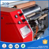 Semi automático del papel de aluminio rebobinado de la máquina