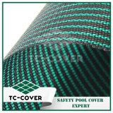Las cubiertas ovales de encargo Alto-Densas resistentes al por mayor de la piscina del invierno de la seguridad para la piscina de Inground embroman y acarician seguridad al cerrarse