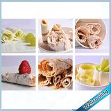 Fabriqué en Chine 6 godet de la crème glacée rouleaux frits thaï Pan