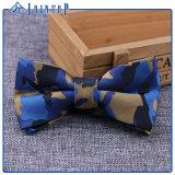 Camo 도매 나비 넥타이 100%년 폴리에스테
