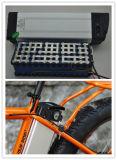 Bateria elétrica de Ebike da bateria da bateria LiFePO4 da potência de bateria do Lítio-Íon da bateria da cremalheira da parte traseira da bateria da bicicleta da bateria de lítio do estilo 10s7p 36V 15ah dos peixes de prata