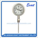 Термометр напольного термометра нержавеющей стали промышленный биметаллический - поставщик термометра