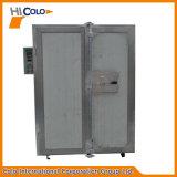 Los pequeños de dos puertas Electric Industrial horno de pintura en polvo
