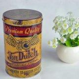 Kundenspezifisches Druck-Zinnblech-kann runder Paket-Behälter für das Tee-Verpacken Metal Kasten-Tee-Zinn