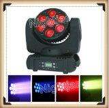 7*12W LEDの移動ヘッドビーム軽い段階の照明