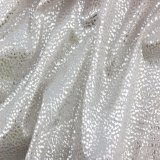 女性の衣服のための100%年のポリエステル銀製の押された軽い新式の方法ファブリック
