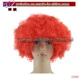 Kostüm-Haarzusätzliche Afro-Perücke-Partei-Perücke-Partei-Produkte (C3001)