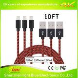 De Nylon Kabel USB van uitstekende kwaliteit voor iPhone