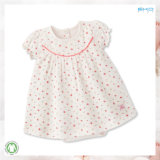 Платье младенца размера круглых одежд младенца шеи изготовленный на заказ