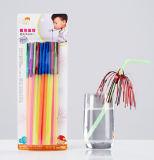 Paja flexible del aerosol plástico del oropel